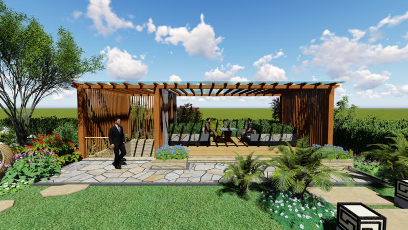 黄龙溪谷客户庭院项目
